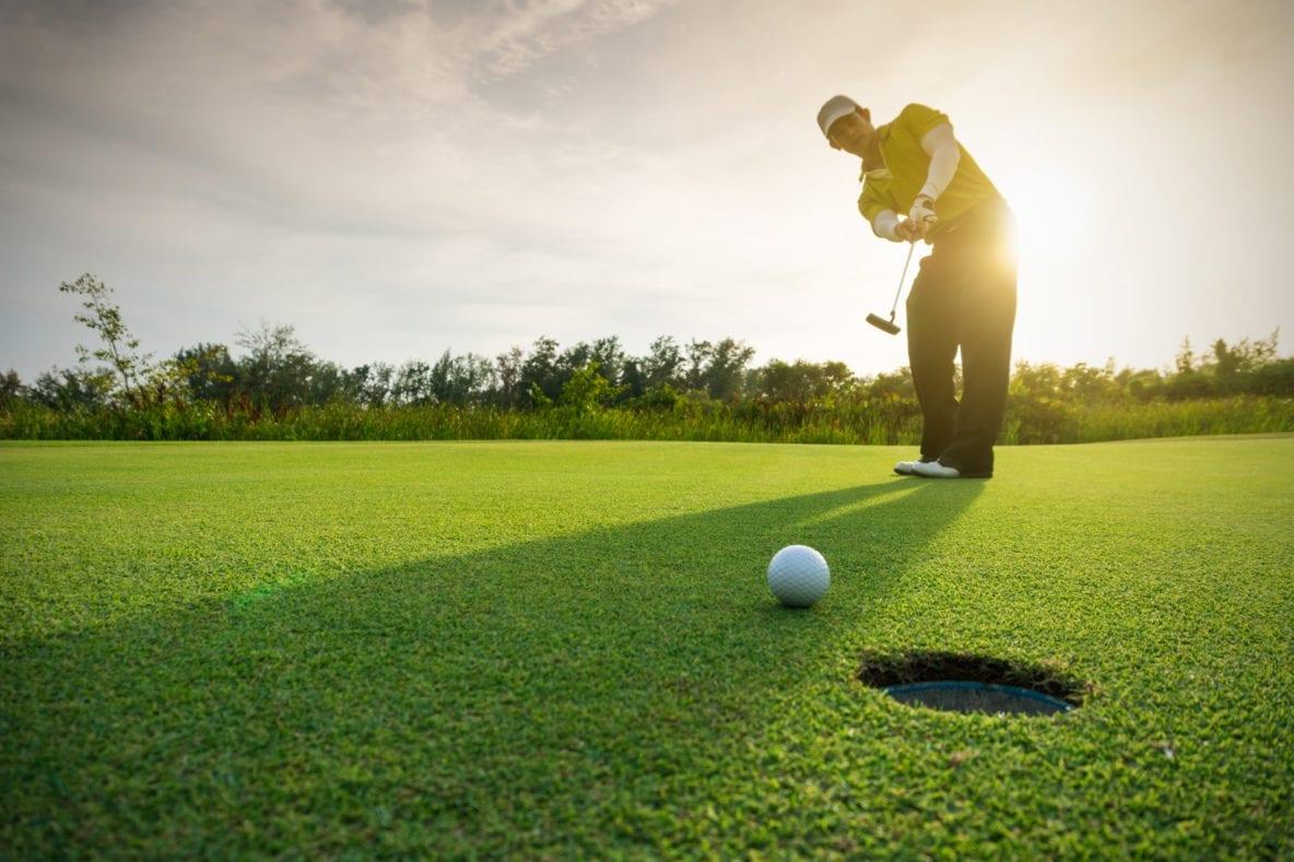 Collisport, il collirio degli sportivi, Golf